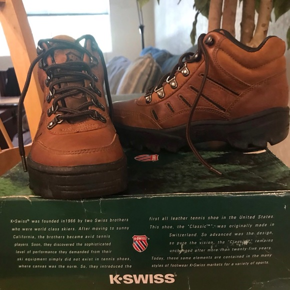 K-Swiss Shoes | Kswiss Leather High